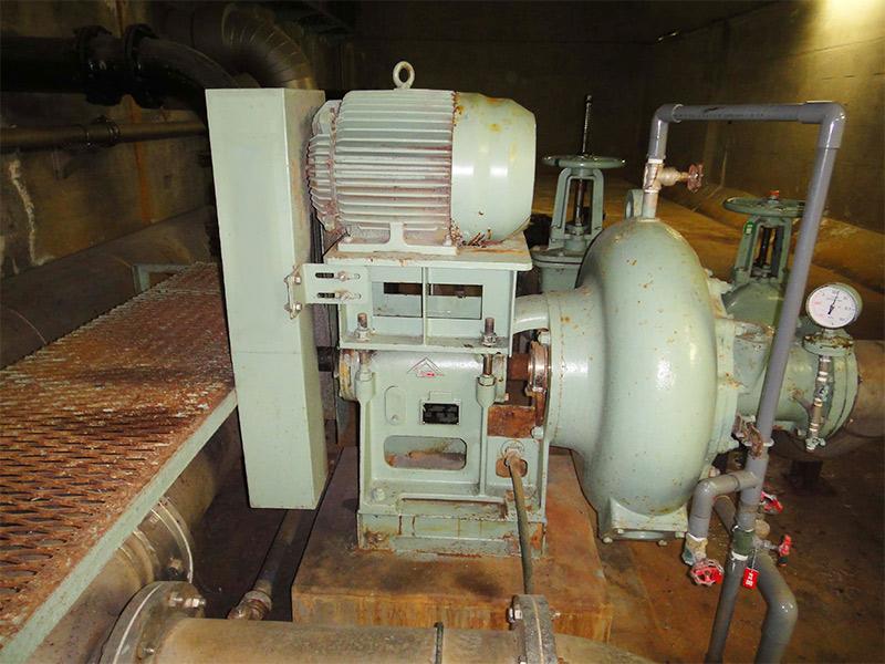 古河金属工業製ポンプ
